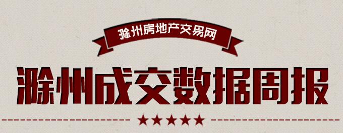 滁州楼市23周宅销环比下降16.71%