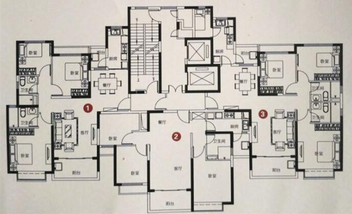单盘解析:恒大名都三室城央首席豪宅