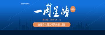 宣城楼市第33周top10:贝林阳江15太夺冠