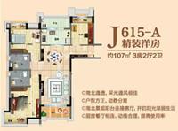 户型解析┃碧桂园滨湖城J615-A户型 精装洋房