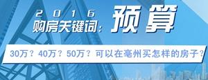 30万-50万在亳州可以买到怎样的房子?