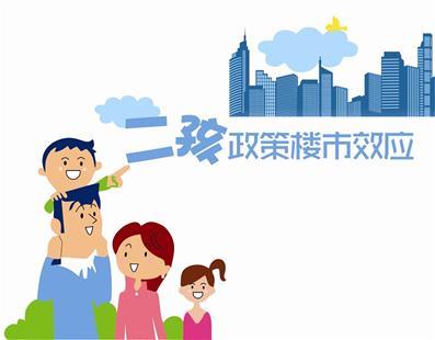"""""""二孩效应"""":5年后楼市或将新增9亿平方米需求"""