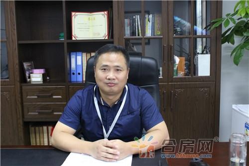 国邦美家居青阳路卖场总经理鲁传洋 未来市场不惧竞争