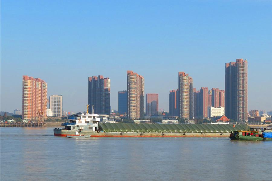 芜湖绝美滨江风景!江城独有的城市天际线