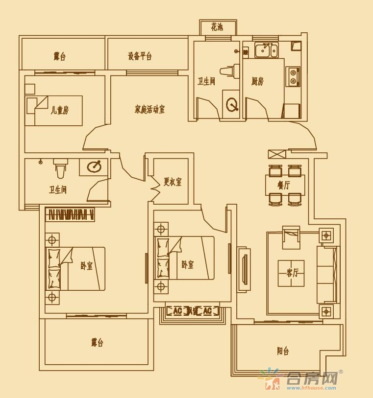 文一锦门北韵_4室2厅2卫1厨