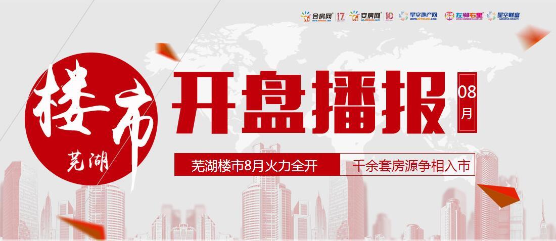 芜湖最新开盘预告