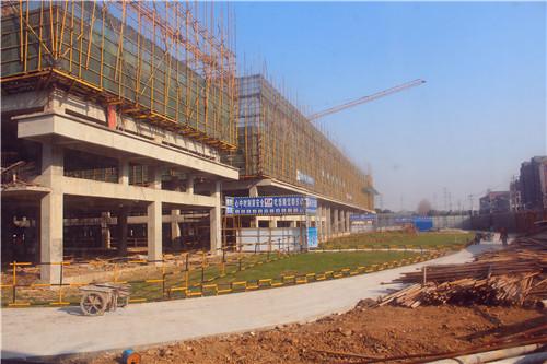 新巢国际12月工程进度:主体建至第3层