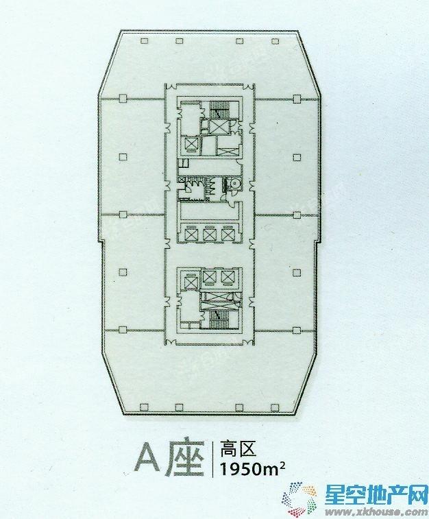华邦ICC市政府地铁口精装甲级写字楼低于市场价4000元急售