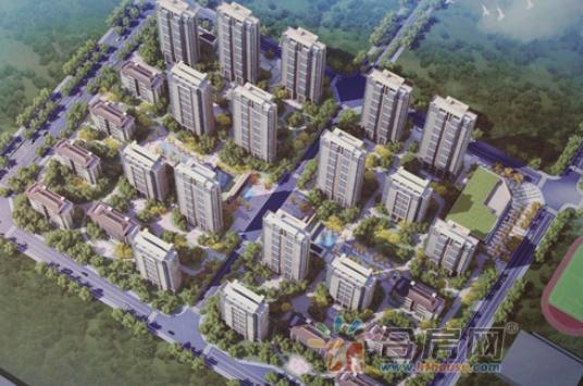 城建琥珀东华府:3月工程进度 15#建至2层