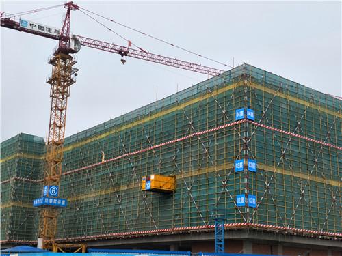 巢湖万达广场2月工程进度:主体建至第4层