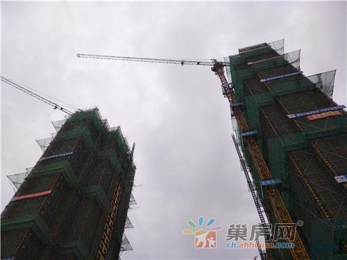 万锦·缇香郡2月工程进度:18#已经封顶