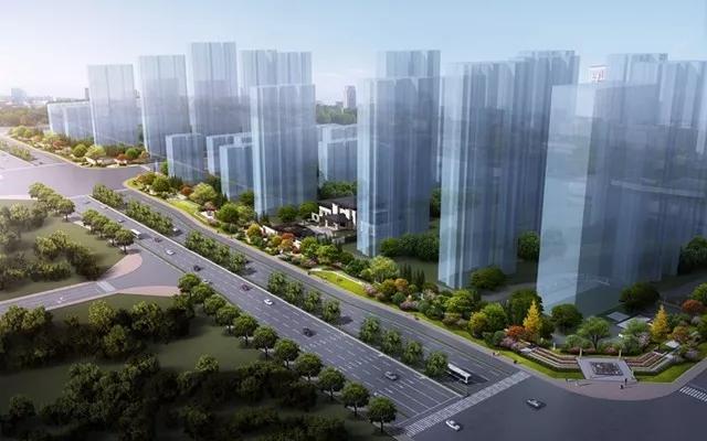 蚌埠和顺静天府7月工程进度 22号楼已经封顶