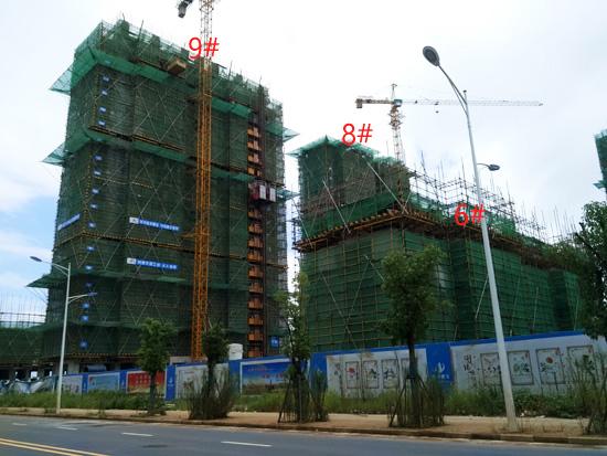 禹洲平湖秋月:高层建设较快 2#3#5#