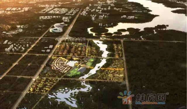 蚌埠城南再添2400亩项目 一批纯新盘将入市