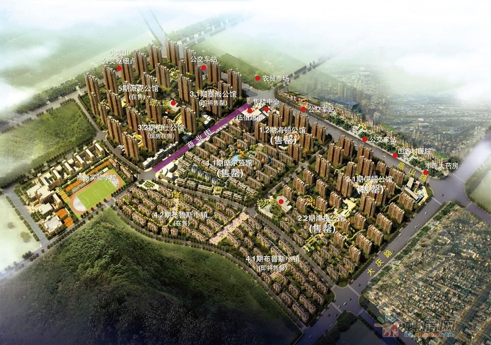 """蚌埠高新区大型居住区在售""""5""""字头房源曝光"""