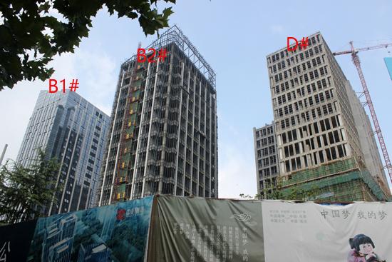 中辰未来港:A栋现房在售 8月工程进度抢先看