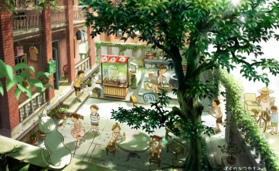 【弘阳•时光里】时光里的小院子 城市里的慢生活