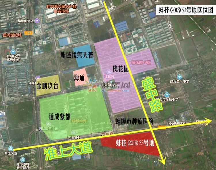 10月蚌埠淮上拟出让251亩商住地 或引万达融创进驻